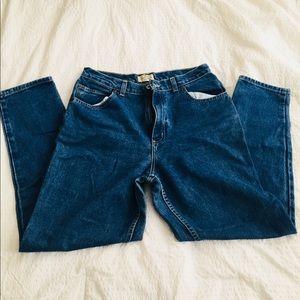 Vintage St John high waist mom jeans.